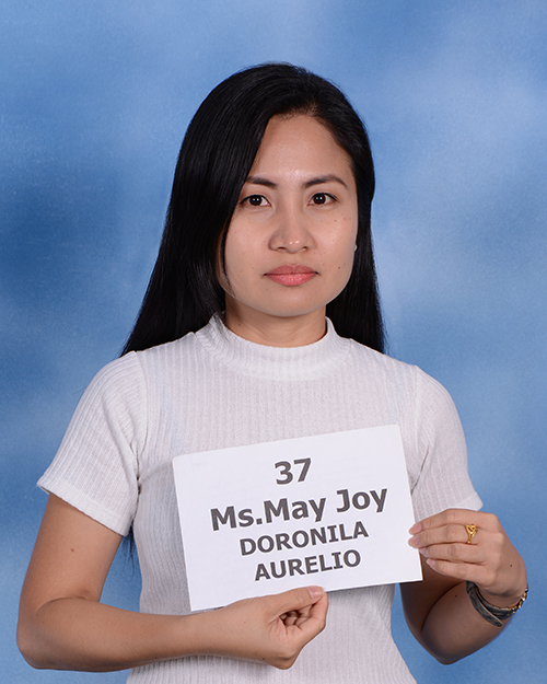 Ms.May Joy DORONILA AURELIO